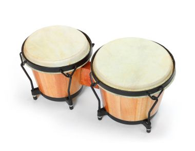 Bongos percussion, traditional african drum