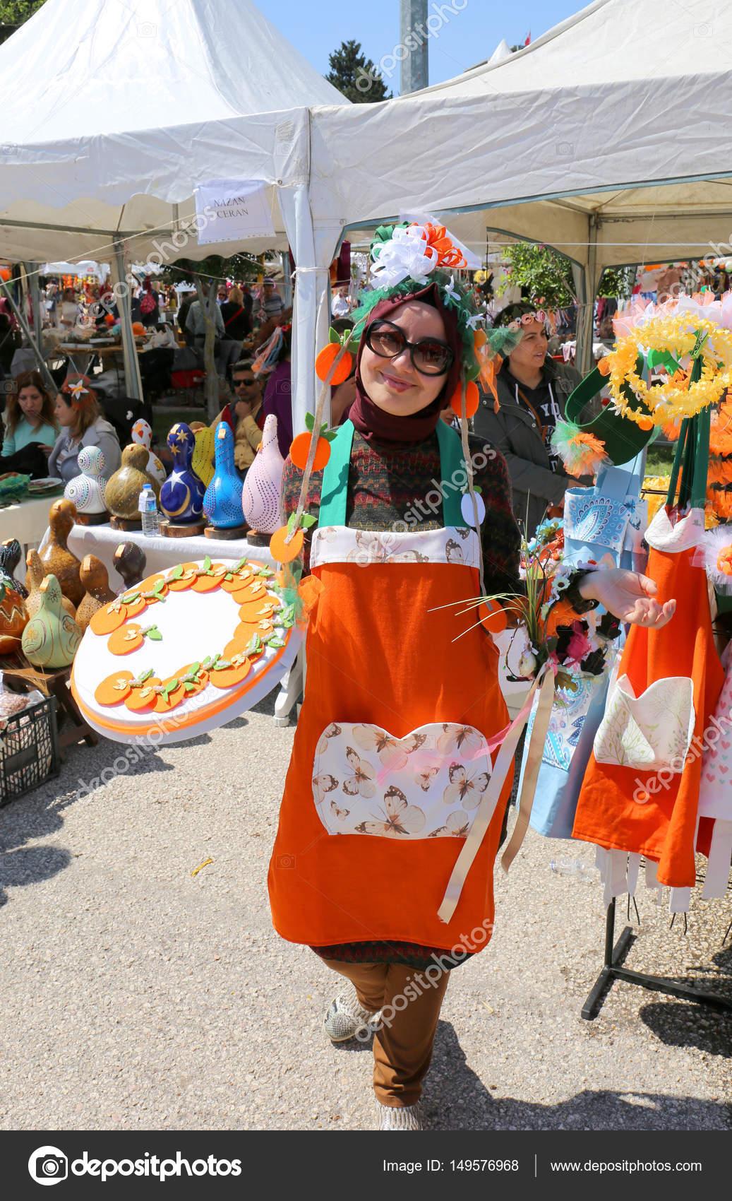 Orange Blossom Woman