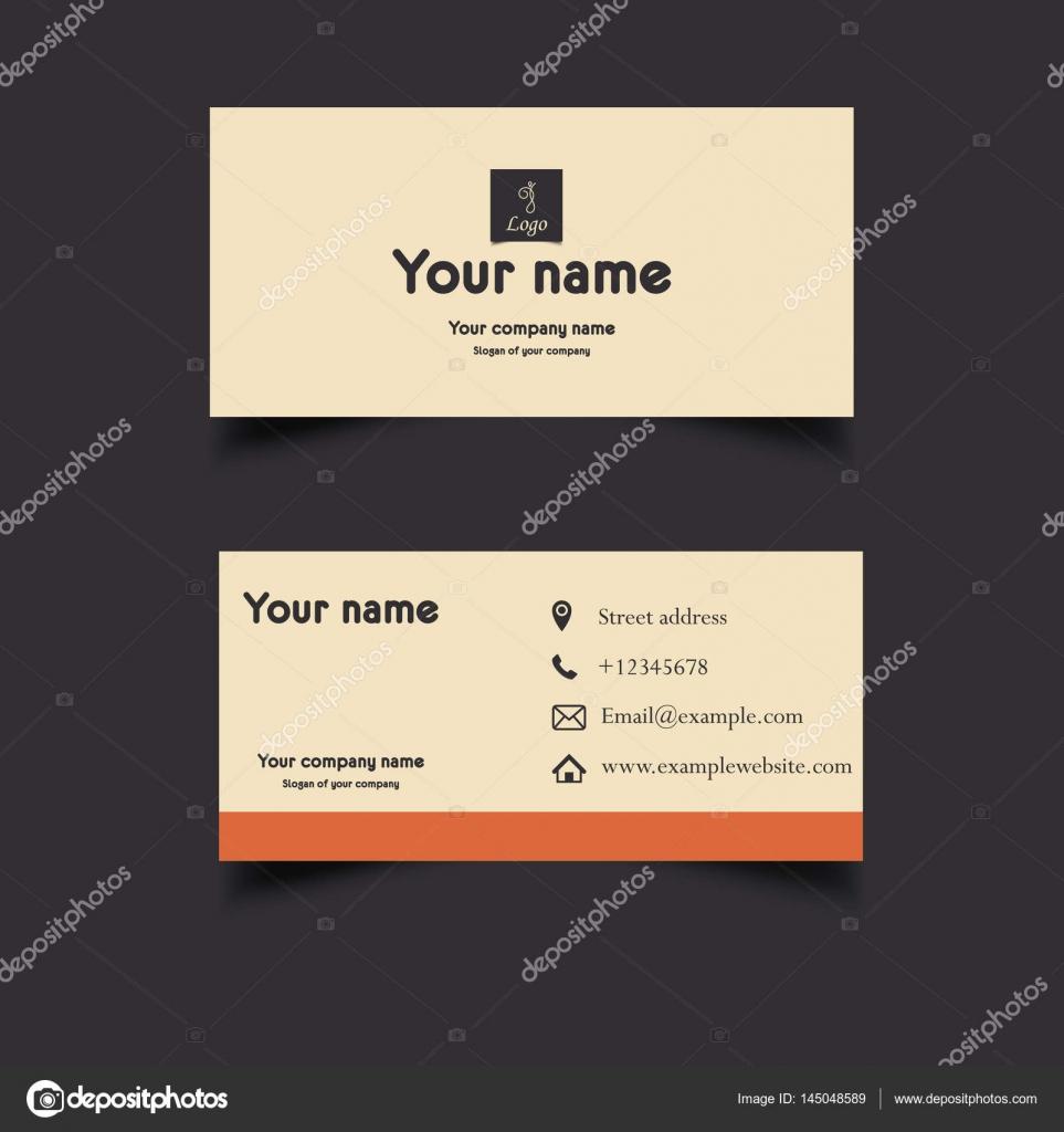Wunderbar Leere Visitenkarte Vorlage Fotos - Beispiel ...