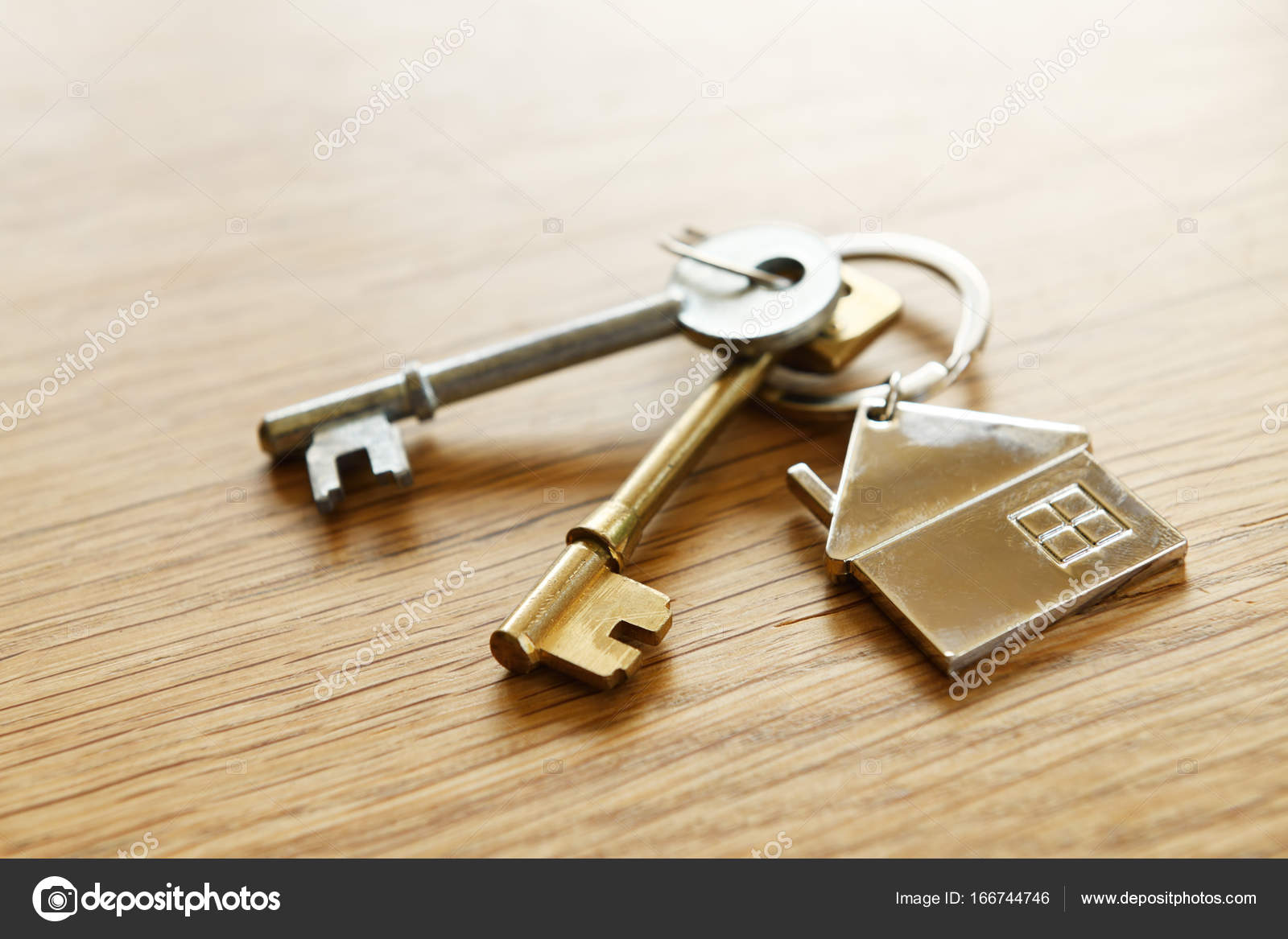 House keys on a table — Stock Photo © hyrons #166744746