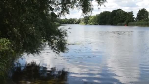 Havel river (Brandenburg Germany) landscape along Havelradweg (Havel bike path).