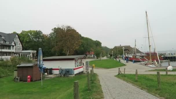 Hafen von Kloster auf Hiddensee Insel (Deutschland)