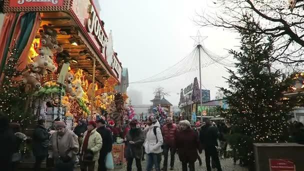 Christmas fair on Spandau district of Berlin