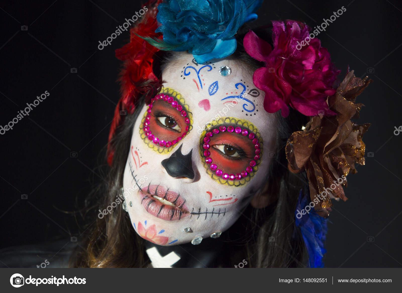 Fotos Catrinas Niñas Scull De Dulces Mexicanos Foto De