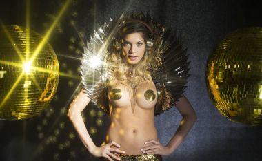 golden disco godess