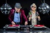 Fotografie DJ-Oma und Opa