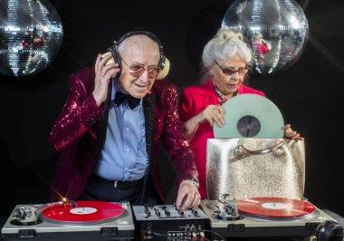 Dj grandma and grandpa