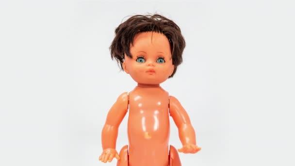 Hračky plastová panenka DJ hrát vinyl na palubách