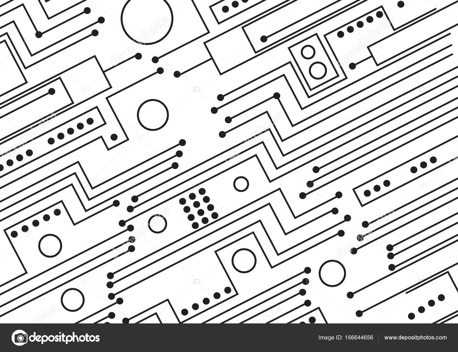 computer circuit board illustration  u2014 stock photo  u00a9 jamesstar  166644656