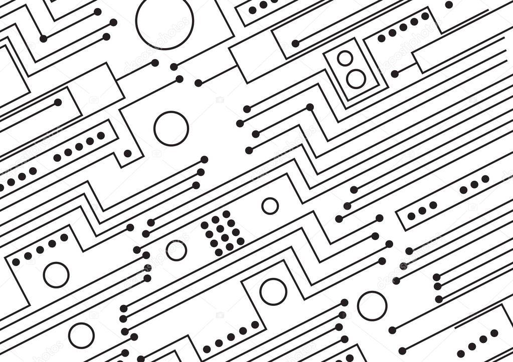 computer circuit board illustration  u2014 stock photo  u00a9 jamesstar  166644656