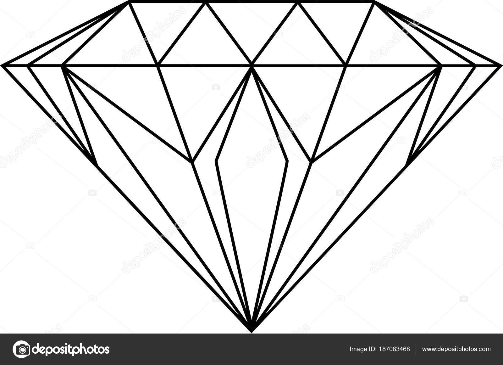 diamond drawing drawing diamond white stock photo c jamesstar 187083468 https depositphotos com 187083468 stock photo drawing diamond white html