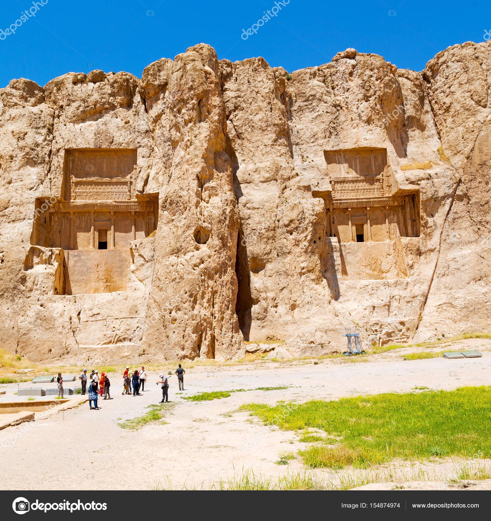 Blur Iran Persepolis Old Ruins Historical Destination Monuments Mountai Stock Editorial Photo C Lkpro 154874974