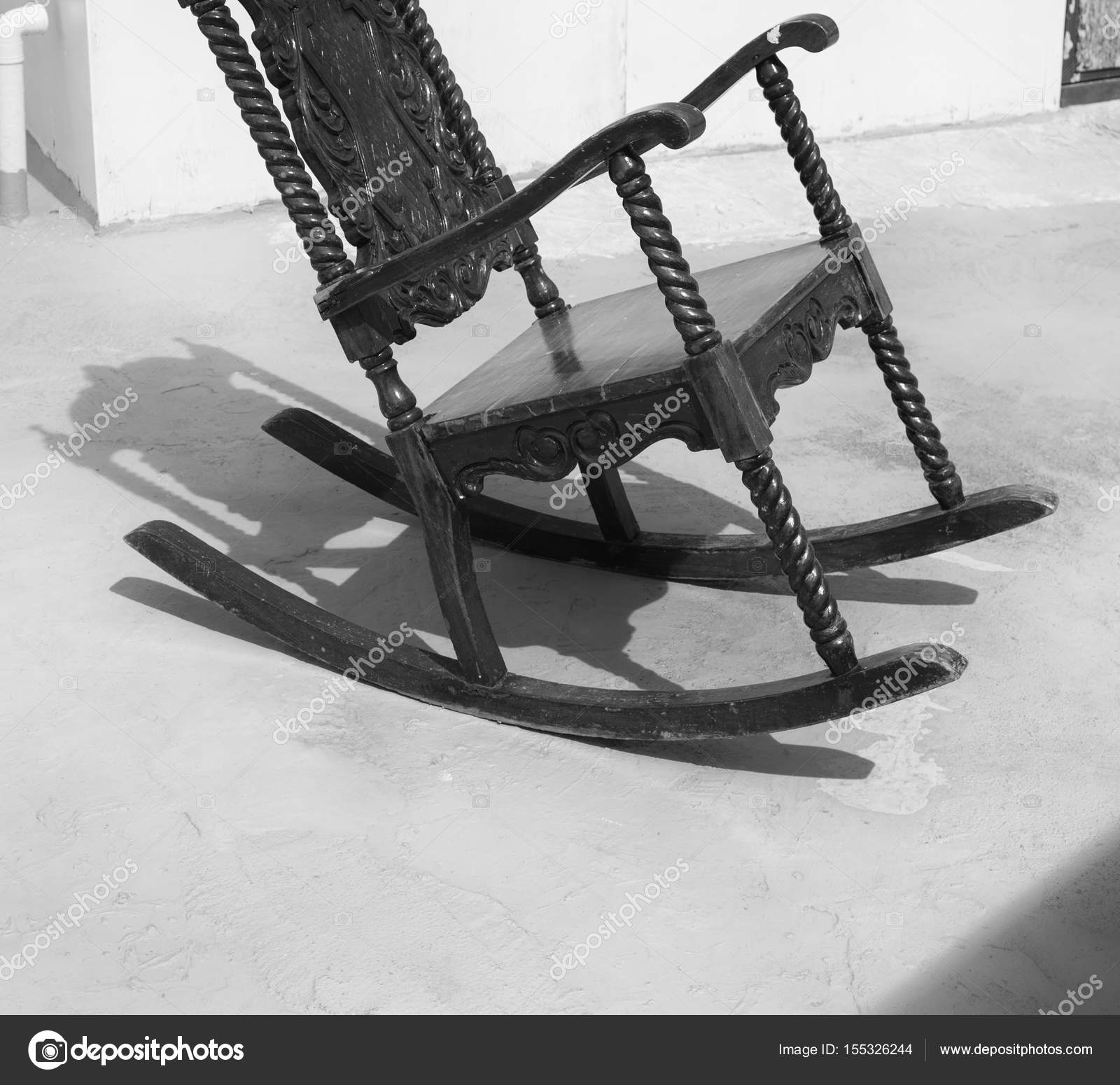 Brilliant Philippines Old Dirty Terrace Whith Rocking Chair Empty Gmtry Best Dining Table And Chair Ideas Images Gmtryco
