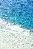 Velký útes z vysoko v Austrálii přírodní park, pojetí ráje