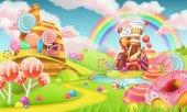 Fotografie Sweet candy land