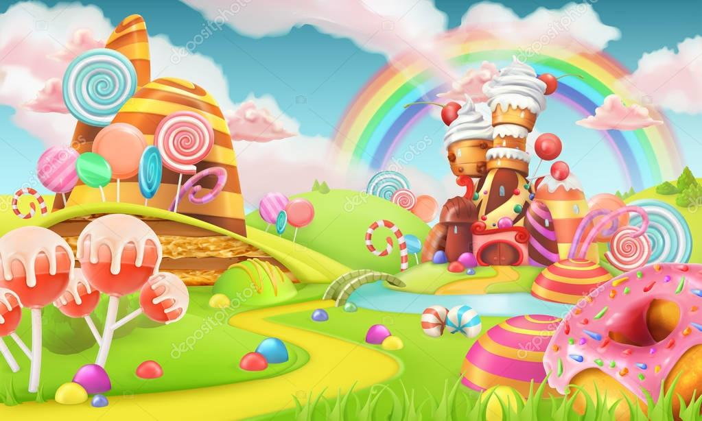 Sweet candy land