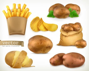 Potato and fry chips