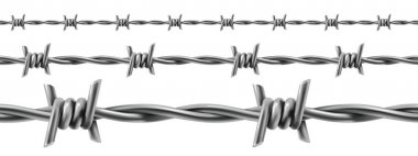 Barbed wires seamless
