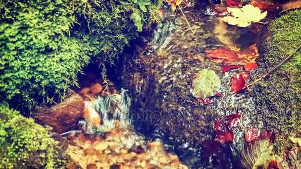 pozadí s tekoucí vodou