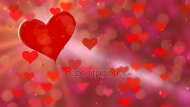 Piros szív téma
