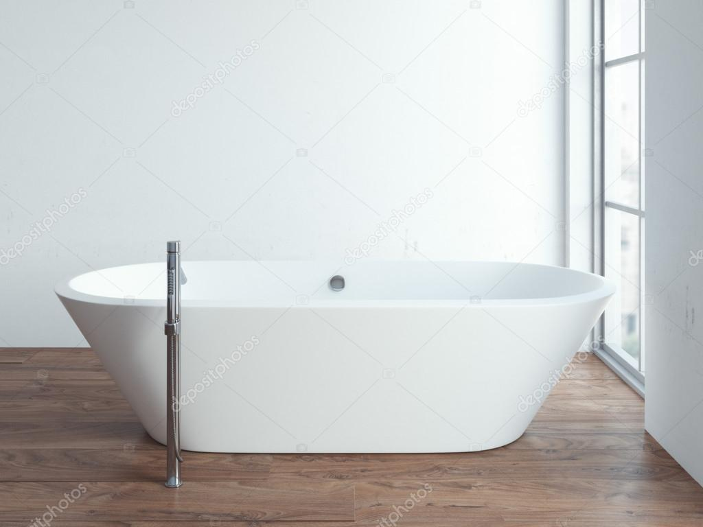 D che rende il bagno moderno del sottotetto con la decorazione di