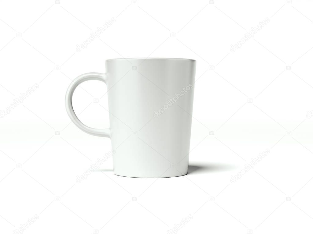 834630cdb87 White blank cup. 3d rendering — Stock Photo © ekostsov #160677772