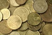 Zlaté mince textura