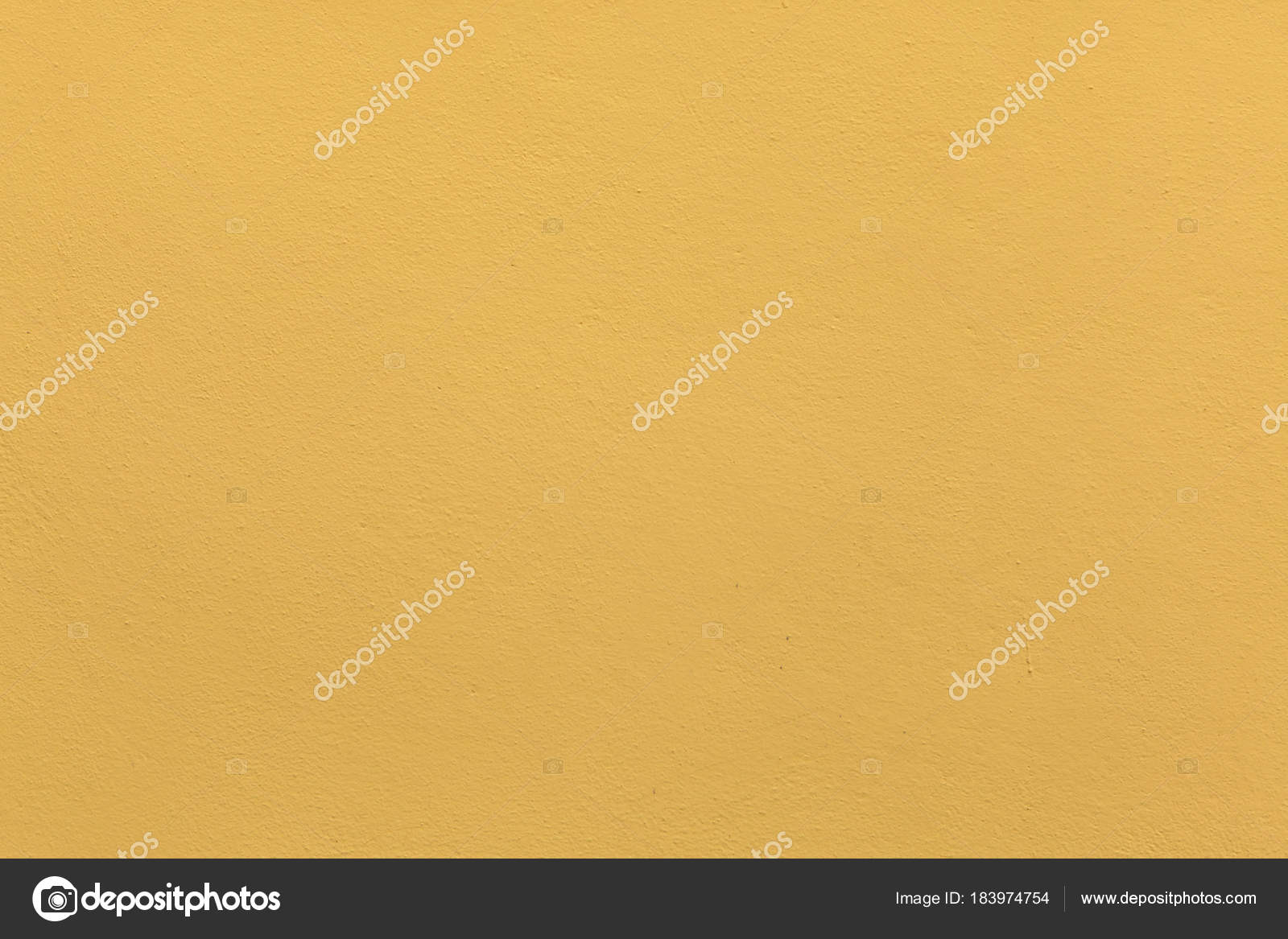 Stucco Wall Painted Yellow Ochre — Stock Photo © wrangel #183974754