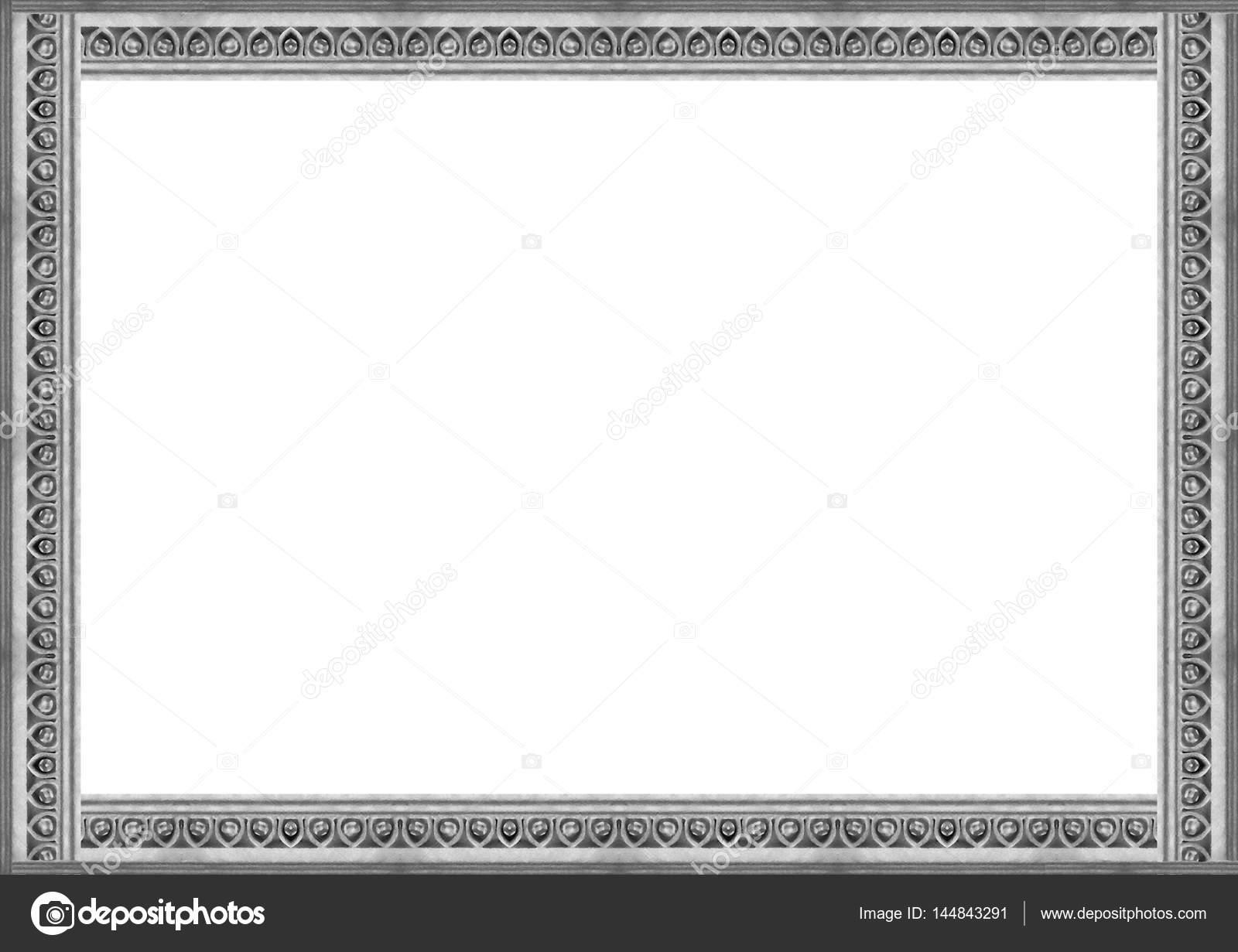 Stein geschnitzten verzierten Rahmen — Stockfoto © DanFLCreativo ...
