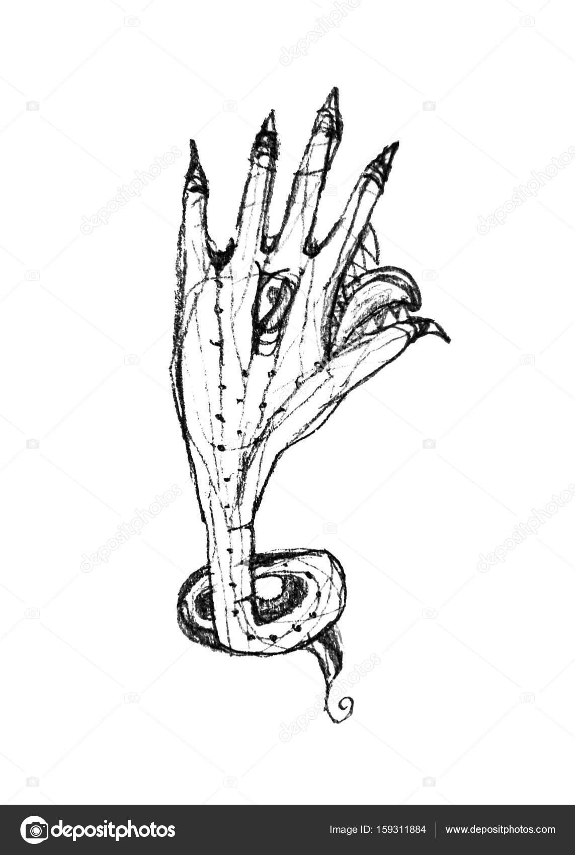 Dibujos Monstruos Para Dibujar A Lapiz Aislado Lápiz De Dibujo A