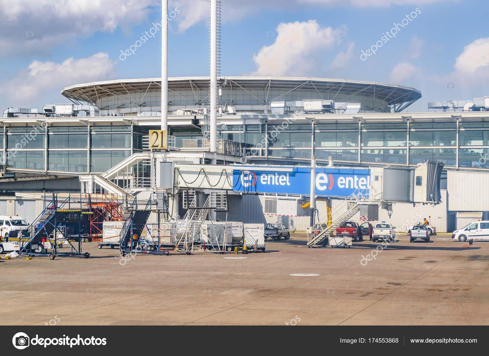 Santiago de Chile Airport, Chile – Stock Editorial Photo