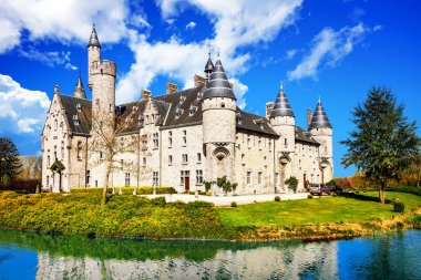 Beautiful romantic castles of Belgium -Marnix, Bornem