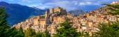 Photo Beautiful mountain village Caccamo in Sicily, Italy
