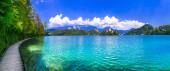 Jedno z nejkrásnějších jezer Evropy - jezero Bled ve Slovinsku