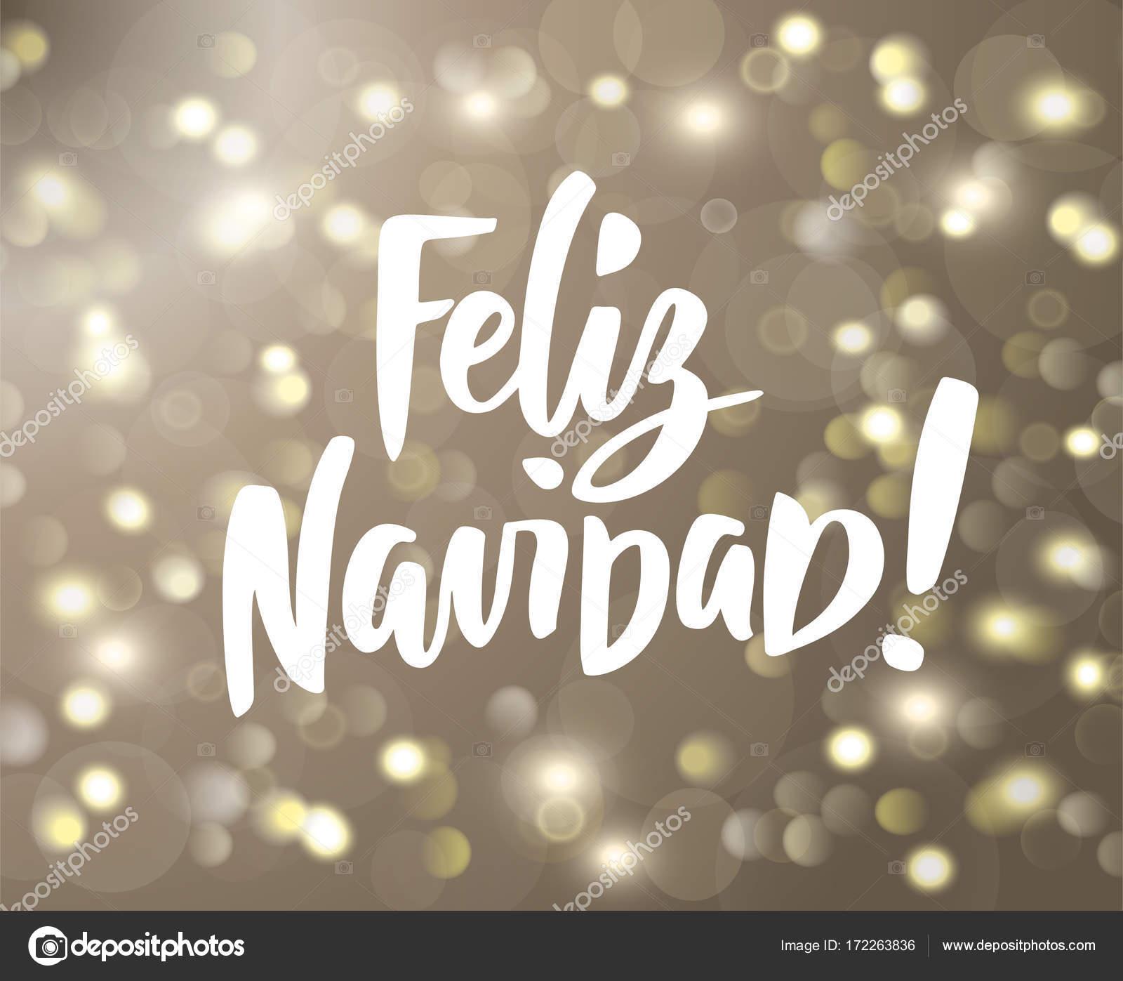 Citaten Kerst En Nieuwjaar : Feliz navidad tekst holiday groeten spaans geïsoleerd citaat op