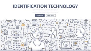 Identification Technology Doodle Concept