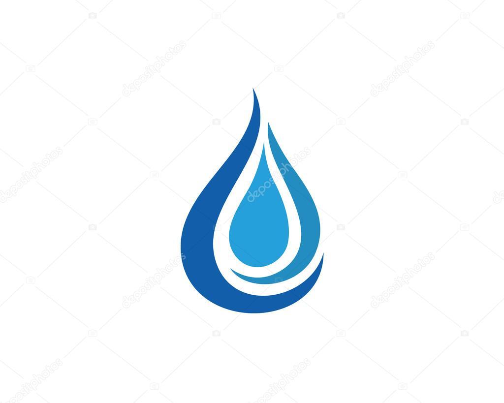 water drop logo and template stock vector elaelo 127509622