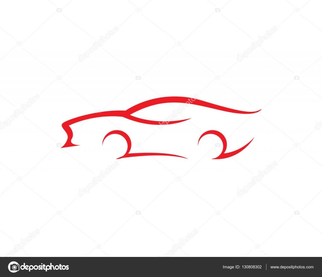 Auto coche Logo plantilla — Archivo Imágenes Vectoriales © elaelo ...