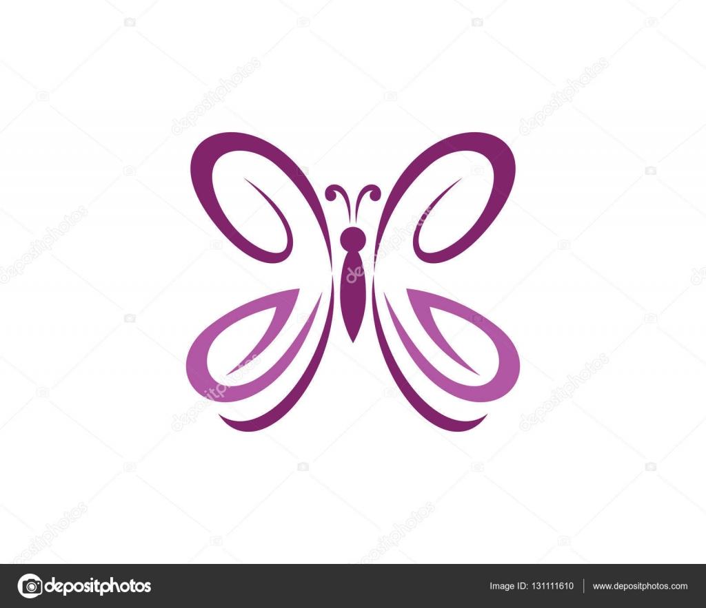 butterfly logo template � stock vector 169 elaelo 131111610