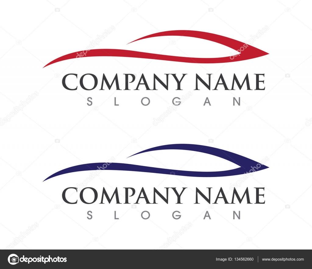 Icono de vector de plantilla de logotipo de velocidad Auto coche ...