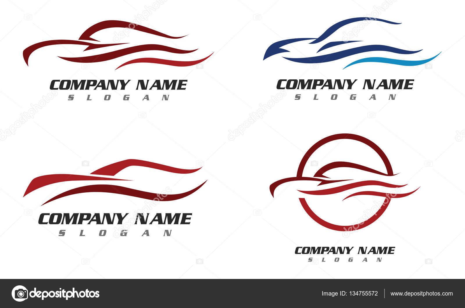 Auto coche Logo plantilla — Vector de stock © elaelo #134755572