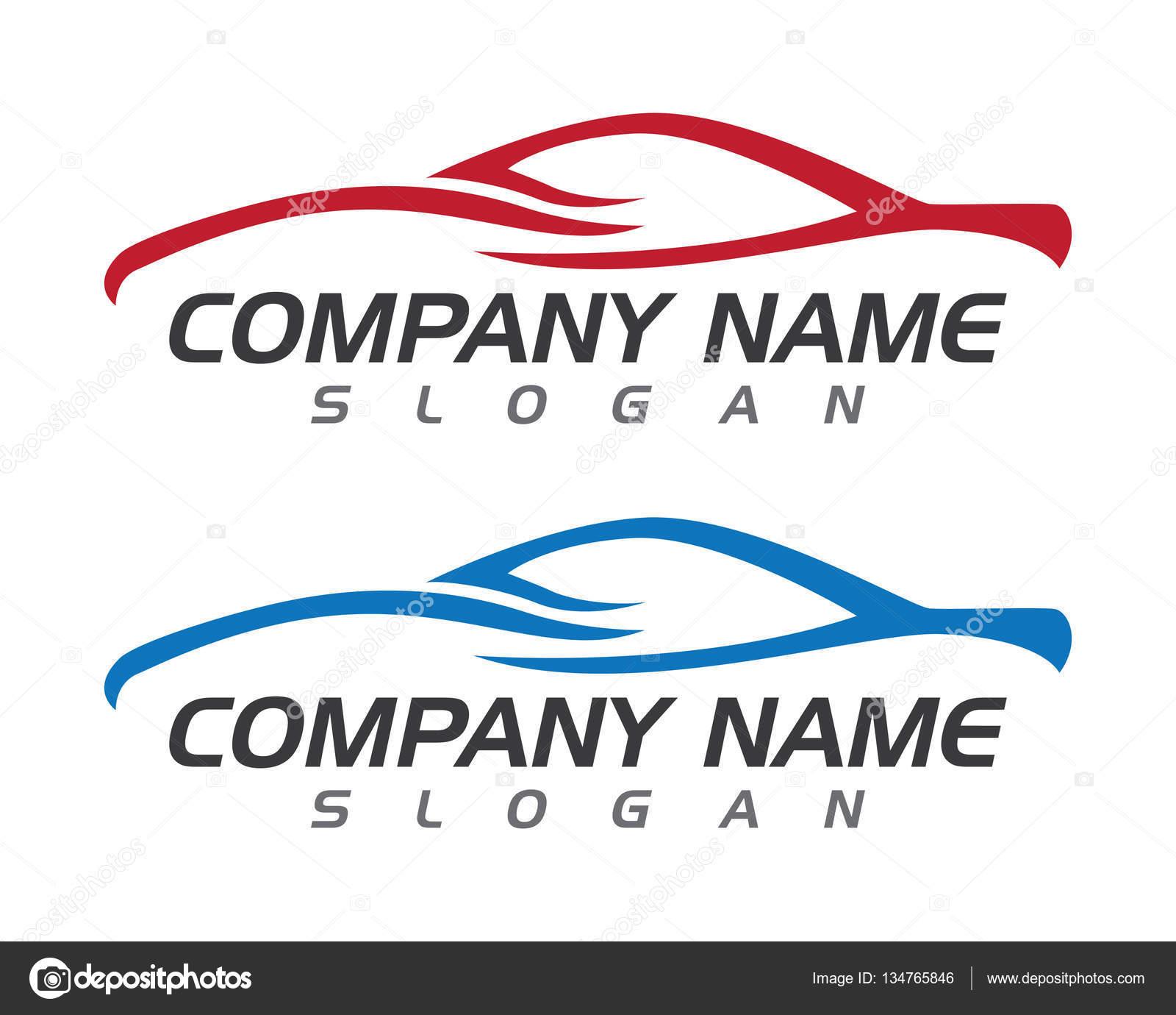 Auto coche Logo plantilla — Vector de stock © elaelo #134765846