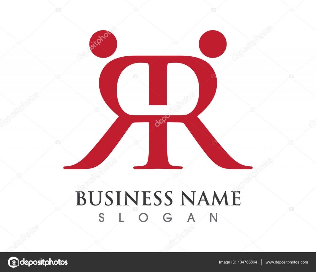 R-Brief-Annahme und Gemeinschaft pflegen Logo — Stockvektor © elaelo ...