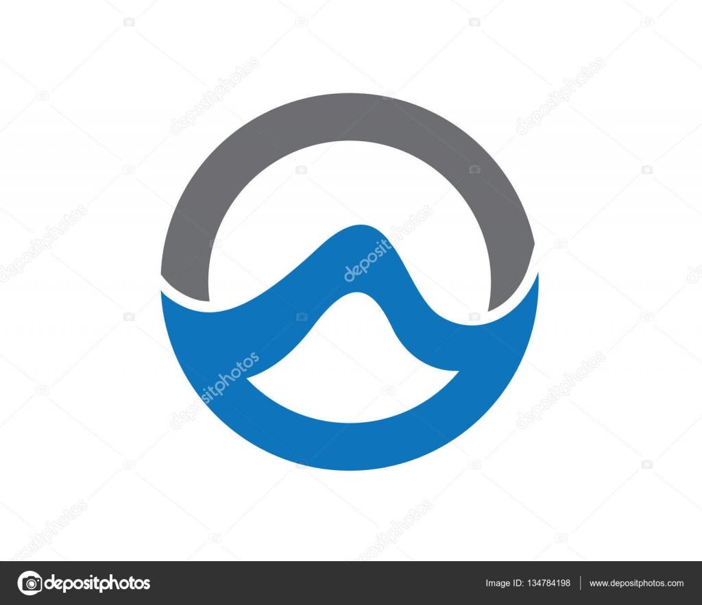 W schreiben Welle Logo Vorlage — Stockvektor © elaelo #134784198