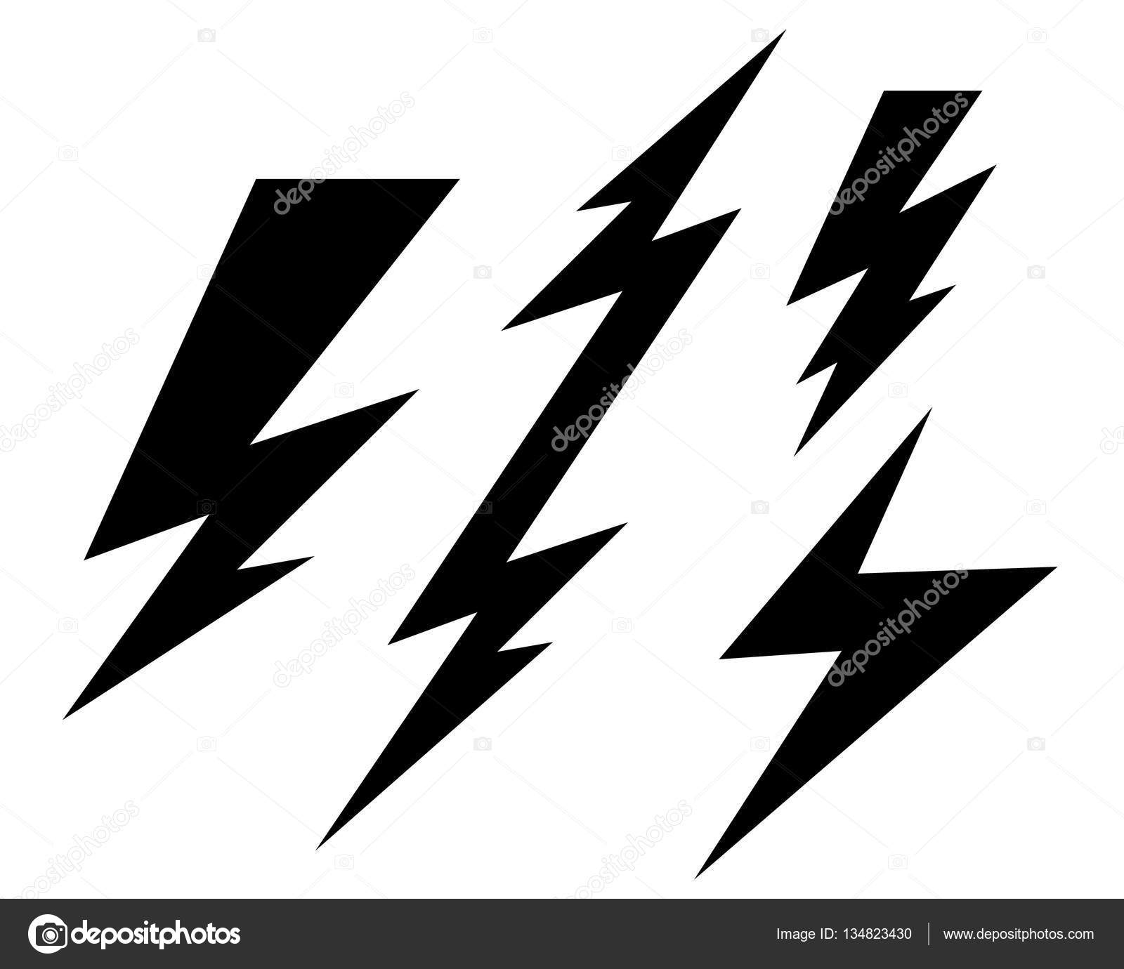 lightning logo template stock vector elaelo 134823430