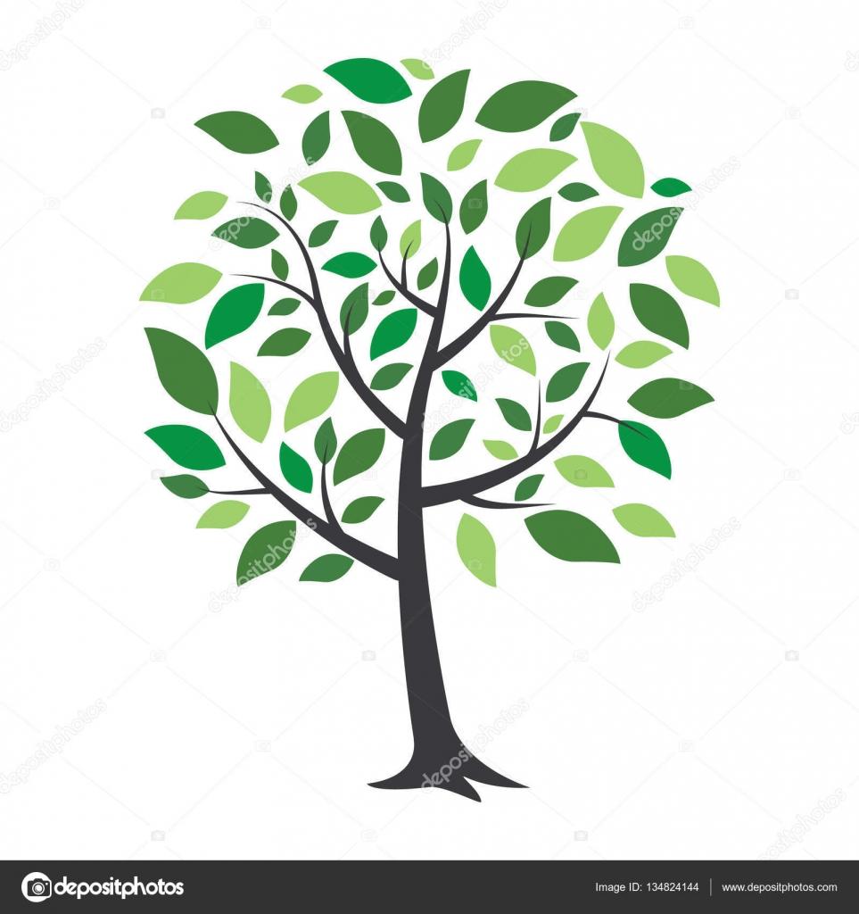 Plantillas De Arboles Sin Hojas Eco árbol Hoja Logo Plantilla