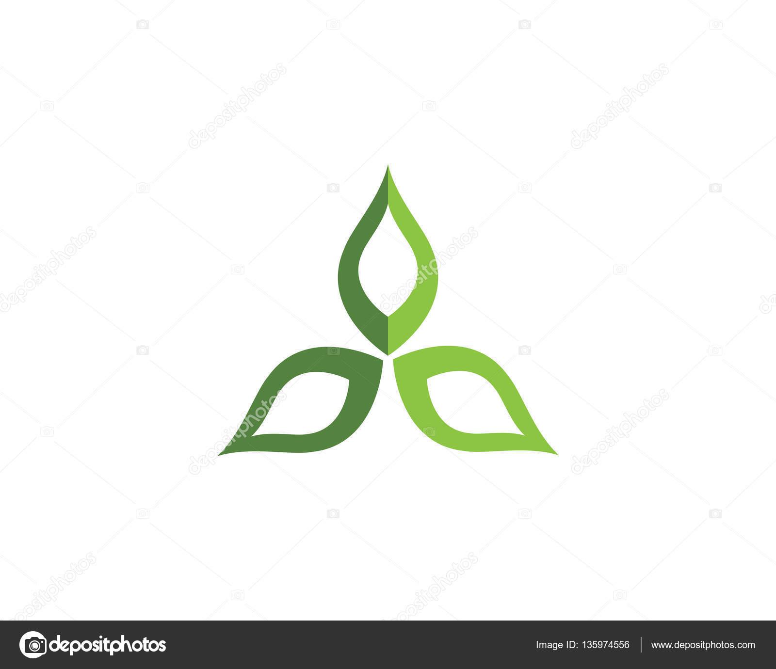 Belleza Vector reduce diseño logotipo plantilla — Vector de stock ...