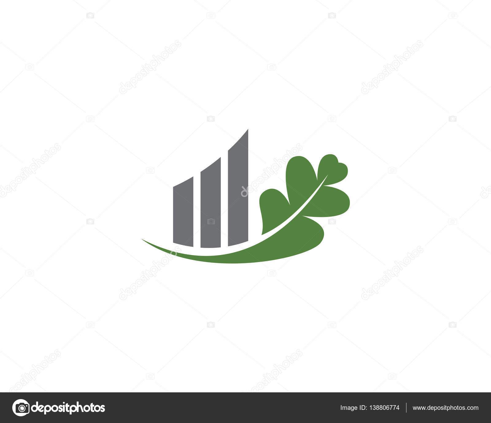 plantilla de diseño de vector de icono de hoja de roble — Archivo ...