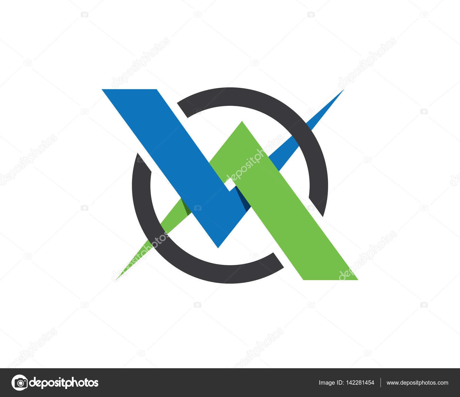 X plantilla de vector logo carta — Vector de stock © elaelo #142281454