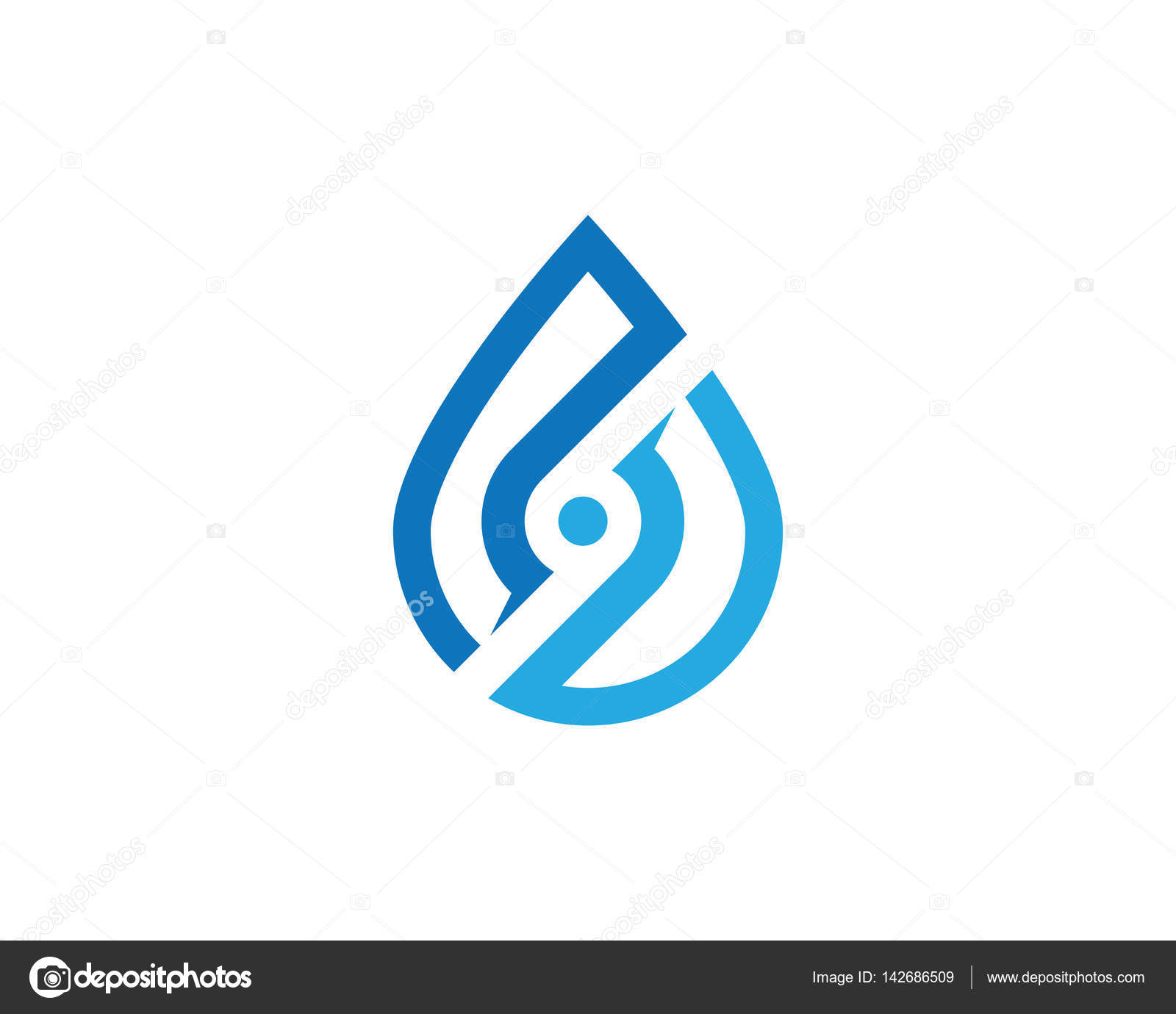 Water drops logo and symbols stock vector elaelo 142686509 water drops logo and symbols stock vector biocorpaavc Image collections